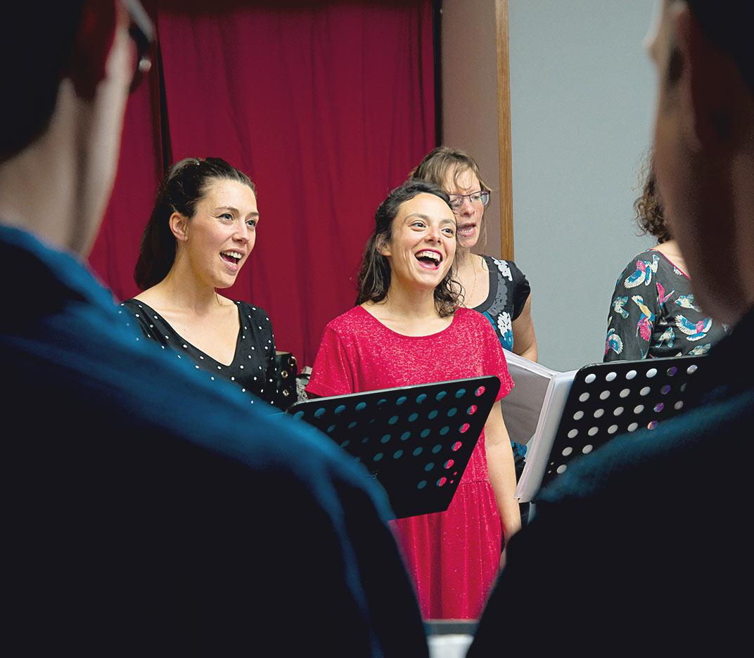 Ateliers Francoeur - atelier chant.