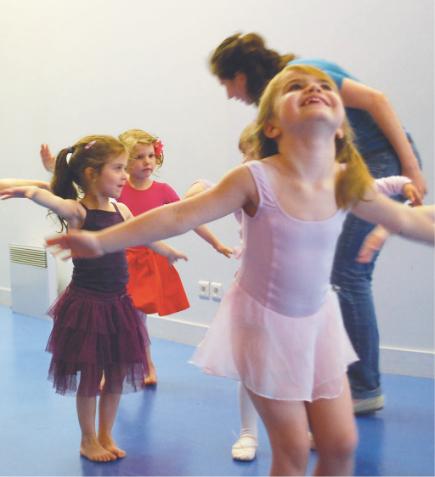 Eveil à la danse - les Ateliers Francoeur - Paris